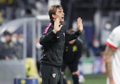 Julen Lopetegui (Séville) a refusé une grosse offre d'un club de Premier League