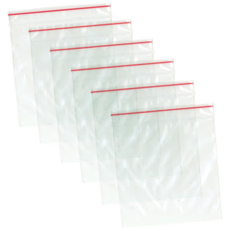 Multicraft Imports Zip-Lock Polybags 3X3 60/Pkg