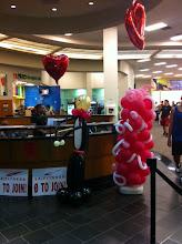 Photo: LA Fitness Valentines Decorations
