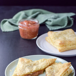 Cream Cheese Rhubarb Pastry Recipe
