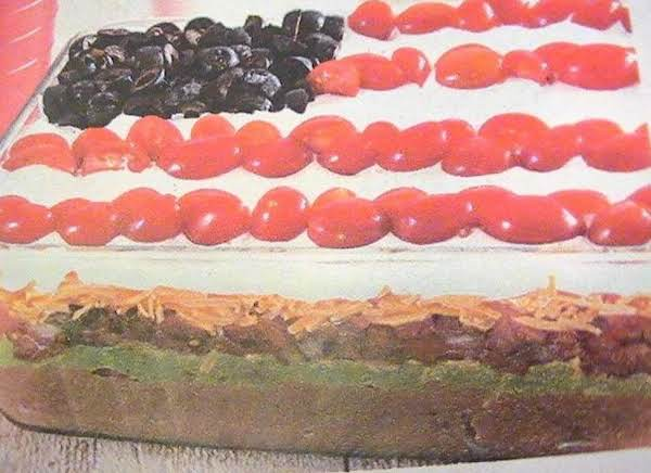 Everyone Makes A 4th Of July Cake, But This...this Is Americana!! In A Dip!