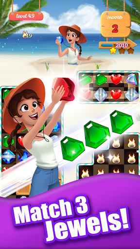 Jewel Ocean - New Match 3 Puzzle Game Idle Garden 1.0.23 screenshots 1