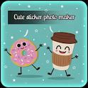 Cute Sticker Photo Maker icon