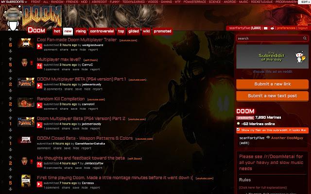 r/Doom Skin :: Dark Fireblood