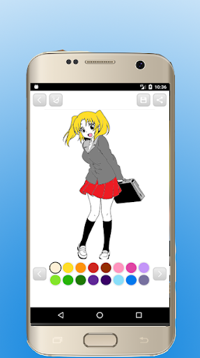 Anime Manga Coloring Books 1.9 screenshots 7