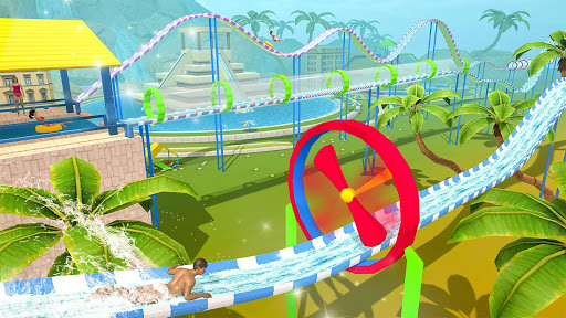 Water Parks Extreme Slide Ride : Amusement Park 3D 1.32 screenshots 6