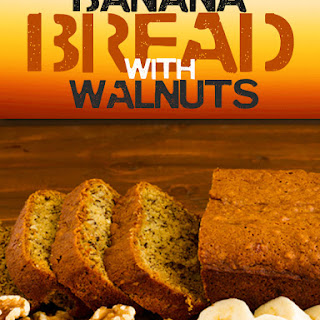 Paleo Banana Bread with Walnuts