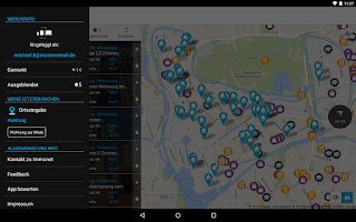 Screenshot of Immonet Property Search