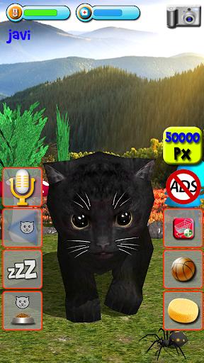 Talking Kittens virtual cat that speaks, take care apkmr screenshots 16