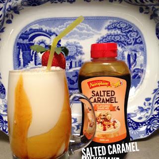 Salted Caramel Milkshake.