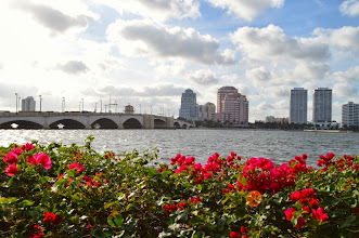 Photo: Intracoastal View from Society of the Four Arts 12-12-13