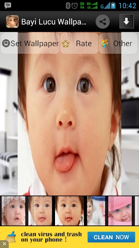 Bayi Lucu Wallpaper