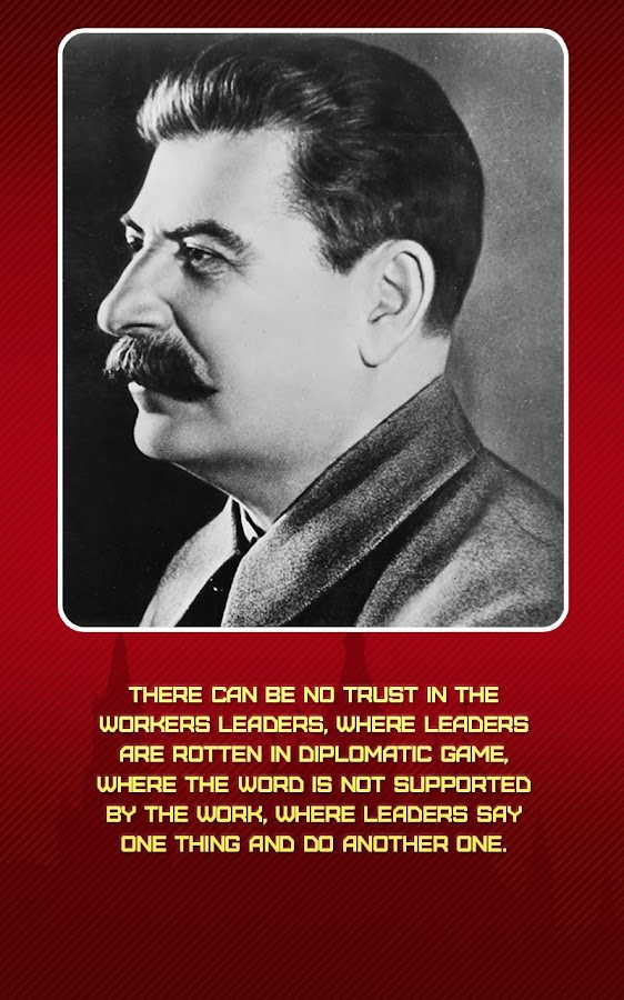 Stalin. Quotations.- screenshot