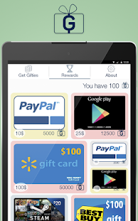 Gifties – Gift Cards & Rewards 8