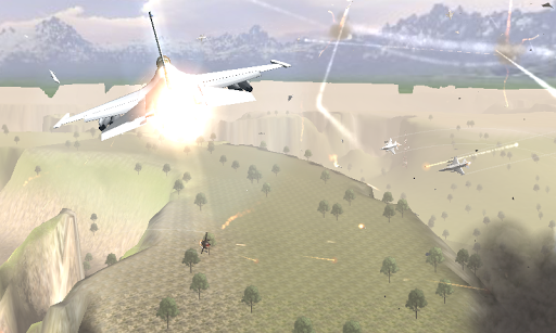war jet battle