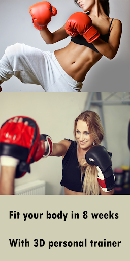 Kickboxing Fitness Trainer - Lose Weight At Home Apk 2