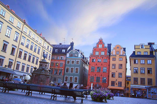 Sweden-Stockholm-Gamia-Stan2 - After strolling the through picturesque Gamia Stan (the old town of Stockholm), take a moment to relax in Stortorget.