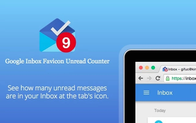 GIFUC - Google Inbox Favicon Unread Counter Screenshot