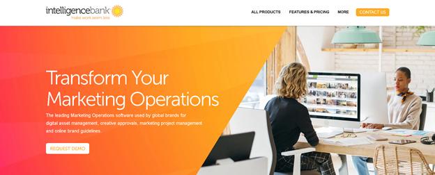 intelligencebank Software zur Verwaltung digitaler Marketing-Assets