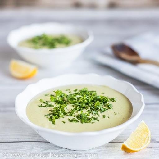 4-Ingredient Avocado Chipotle Soup aka Fat Bomb Soup
