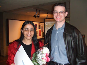 Photo: Ani Adhikari and Ian Lebby