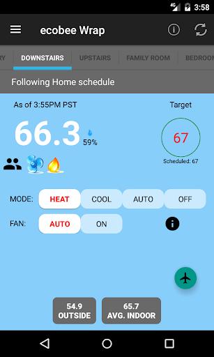 ecobee Wrap Screenshot