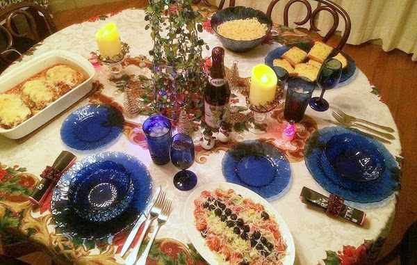 12-31-2014 -- Made this for our New Year's Eve dinner along with Italian Tuna...