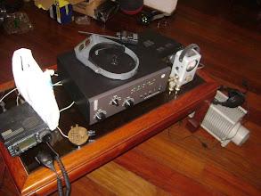 Photo: Inicio dos testes e preparação do equipamentos