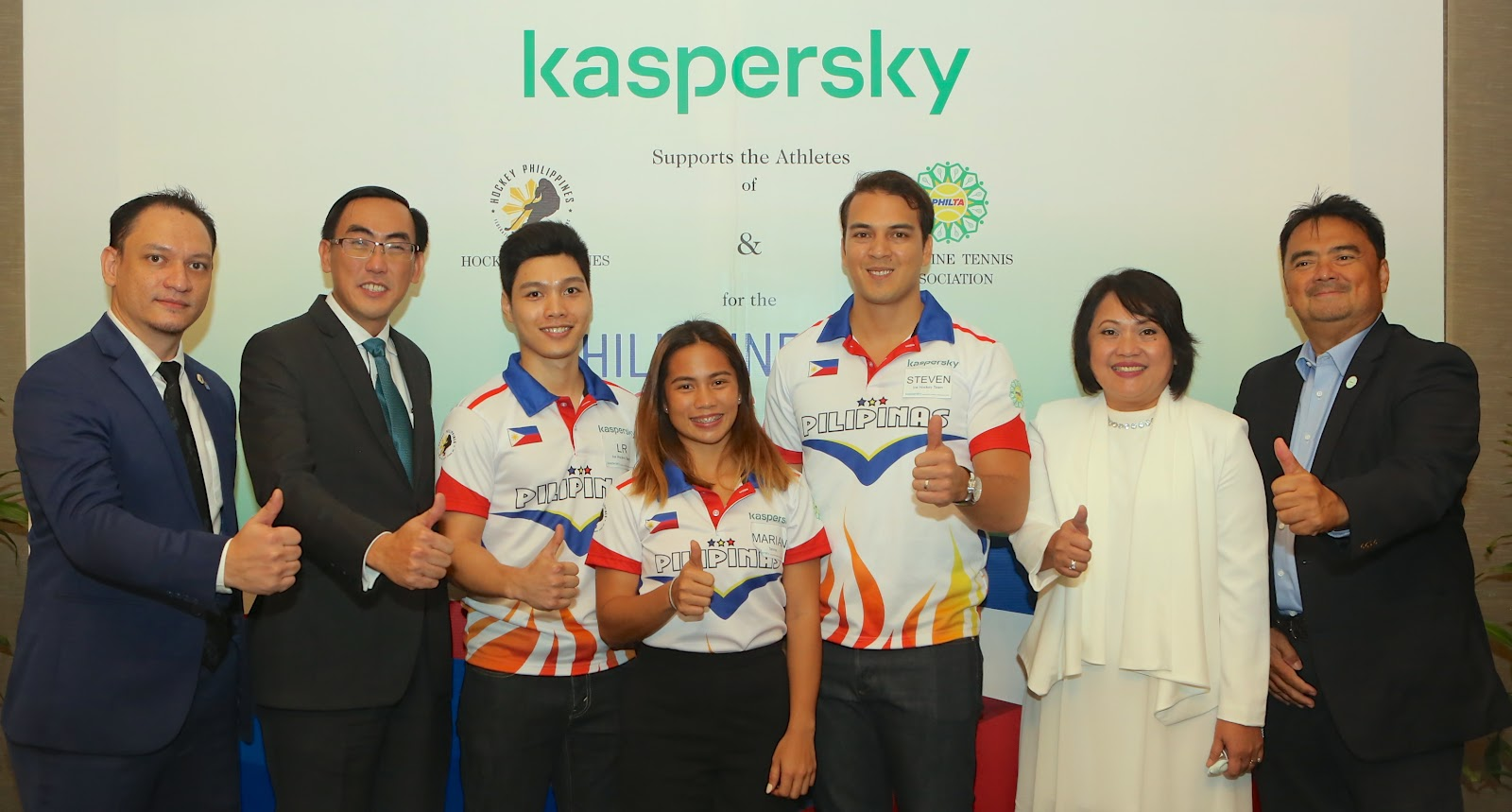 Kaspersky pledges support to Philippine ice hockey and tennis reps at 30th SEA Games in Manila 1