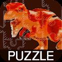 Puzzle Lego Jurassic Dinosaur icon