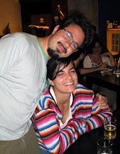 Photo: Velhas amizades: Eduardo Lang e namorada