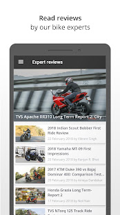 App BikeWale -Search bike, scooter APK for Windows Phone