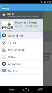 Paperless Events- screenshot thumbnail