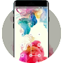 Lock theme for oppo a37 rainbow color wallpaper APK icon
