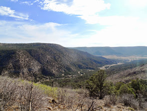 Photo: Dean Heck trail...looking SE.