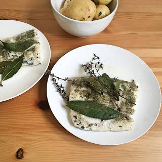 Lemon Myrtle and Thyme Baked Fish.