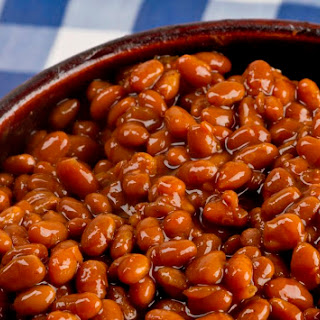 Crock Pot Vegetarian Baked Beans.