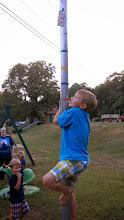 Photo: Greased Pole Climb