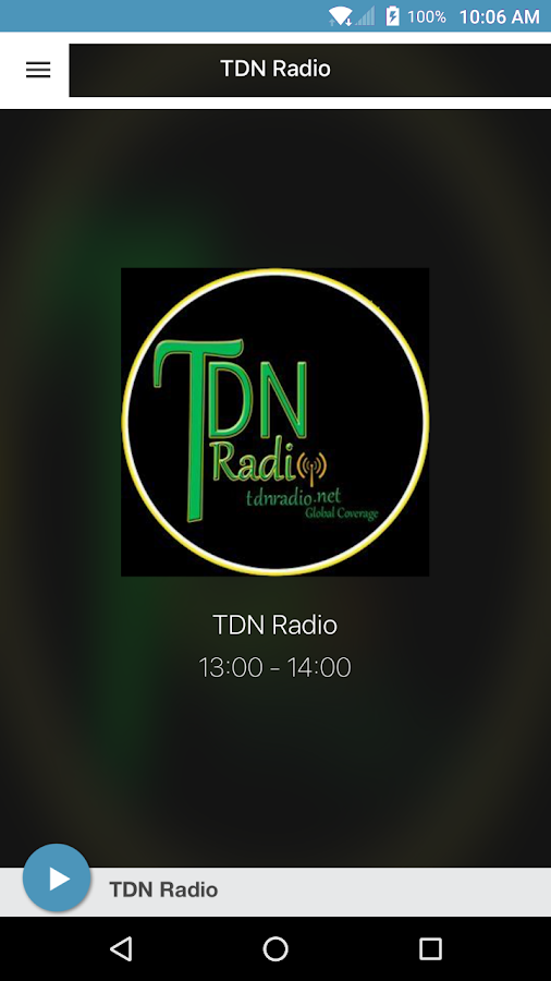 TDN Radio Lite- screenshot