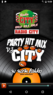 Radio City Party Hit Mix App- screenshot thumbnail