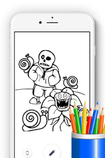 How to Draw Undertale Sans for Fans - náhled