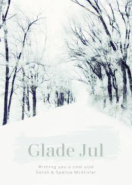 Glade Jul Yule - Christmas Card item