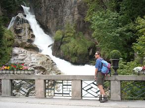 Photo: Der tosende Wasserfall in Bad Gastein