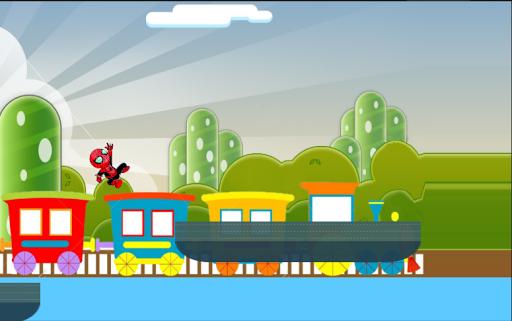 Subway spiderman run