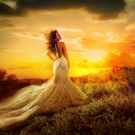 wedding by Dejan Nikolic Fotograf Krusevac - Wedding Bride ( vencanje, wedding, sunset, svadba, bride, fotograf )