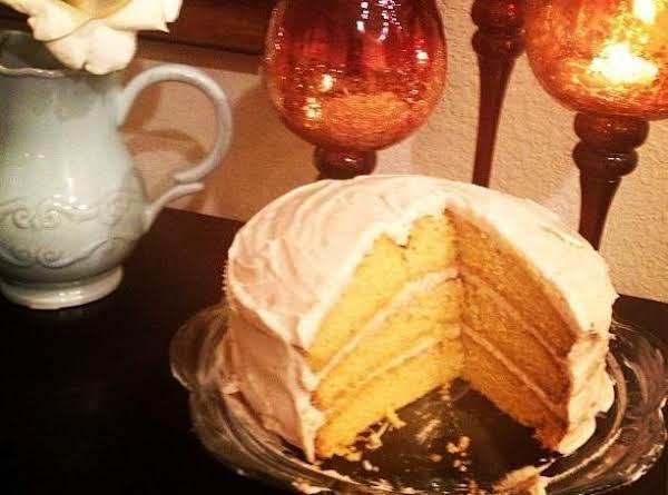 Genna's Pumpkin Wonderland Cake With Maple Cinnamon Cream Cheese Frosting!  Best Cake Ever!!