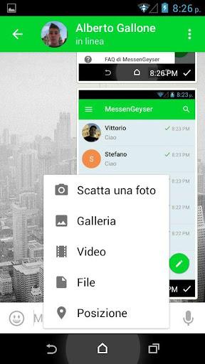 MessenGeyser screenshot 6