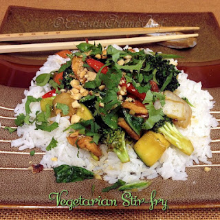 Vegetarian Stir-fry.