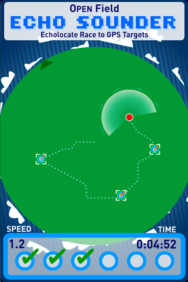Open Field Echo Sounder- screenshot