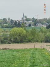 Photo: zicht op de kerk van Ollignies